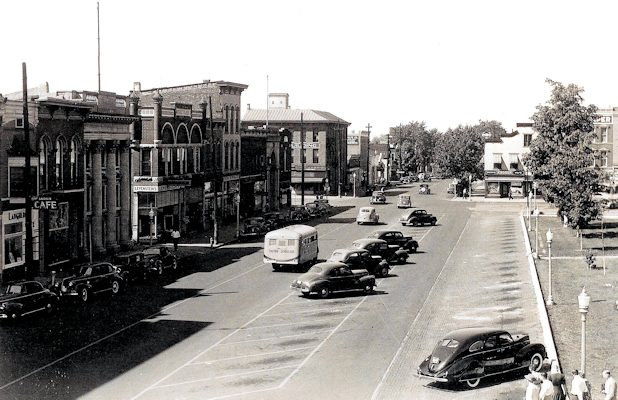 Old photo of Greensburg